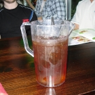 A pitcher of Jagerbomb for Chiya alone.